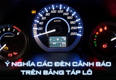 Ý nghĩa các ký hiệu, đèn cảnh báo trên ô tô